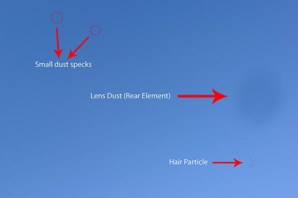Cách phát hiện bụi trên cảm biến DSLR của bạn