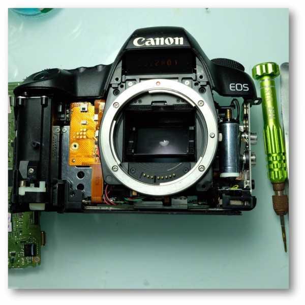 Sủa chữa body Canon - Sửa máy ảnh