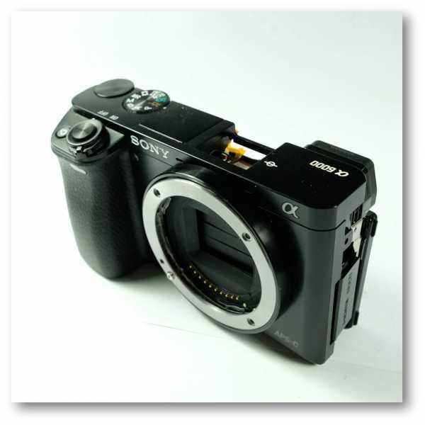 Sửa chữa body Sony - Sửa máy ảnh