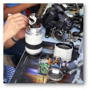 Sửa chữa máy ảnh sài gòn, sửa chữa máy ảnh Hồ Chí Minh