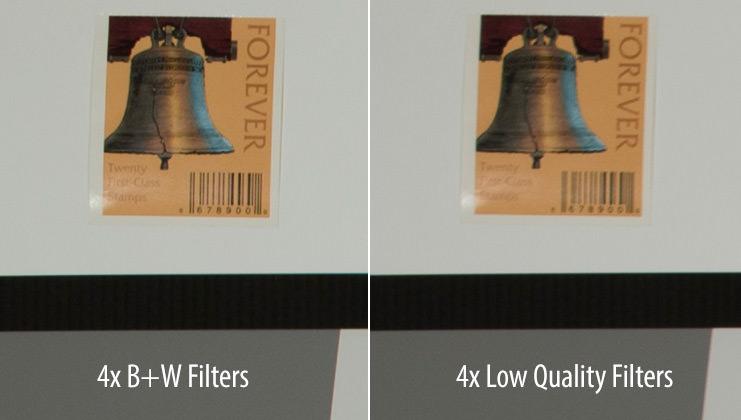 Không phải tất cả các bộ lọc ống kính đều giống nhau