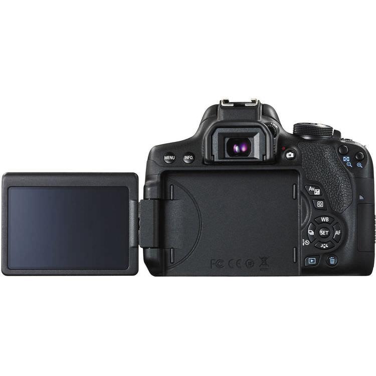 So sánh các máy ảnh DSLR Canon nhập cảnh cấp