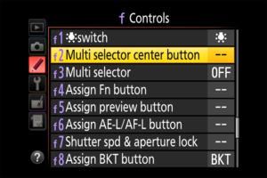 Làm thế nào để kích hoạt tính năng zoom One-Click của Nikon DSLR