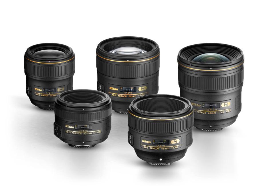 Ống kính Nikon phổ biến để quay video